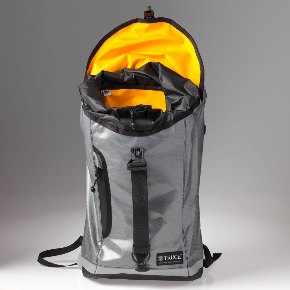 Grey Goretex Drop Liner Backpack