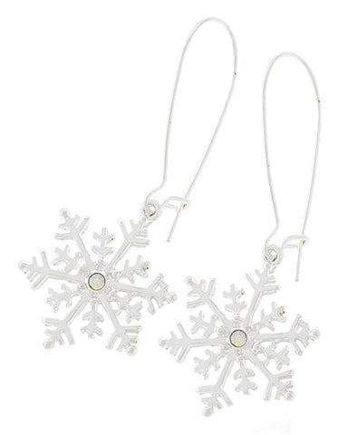 Snowflake Earring Set