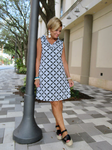 NAPLES RUFFLE DRESS