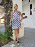 NAPLES KEYHOLE  DRESS
