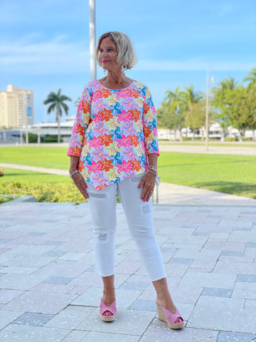 PALM BEACH GARDEN ASYMMETRIC TOP