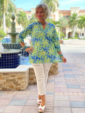 UNDER THE PALM TUNIC