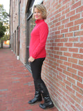 BASE LAYER TURTLE NECK RED