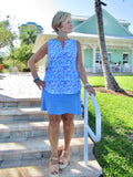 AQUA REEF SLEEVELESS V-NECK