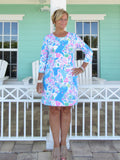 PALM BEACH SLEEVE DRESS