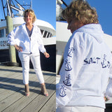 SALTY GIRL ANCHOR JACKET