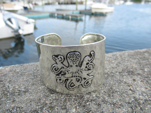 FASHION SILVER MERMAID CUFF