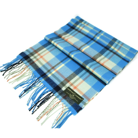 FLORIDA BLUES CASHMERE FEEL SCARF