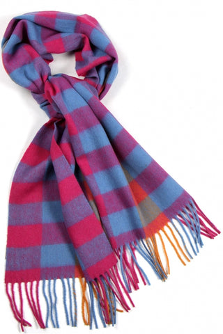 CANDY CANE CASHMERE FEEL SCARF