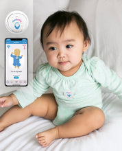 Load image into Gallery viewer, MonBaby Rechargeable Baby Breathing, Body Movement & Temperature Monitor