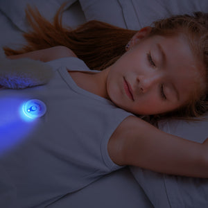 MonBaby Dream: Sleep Monitor and Sleep Trainer. Breathing, Rollover, Temperature Tracking for Babies. Sleep Training Light for Toddlers.