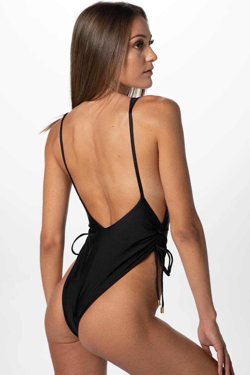 Everly Low Cut One Piece