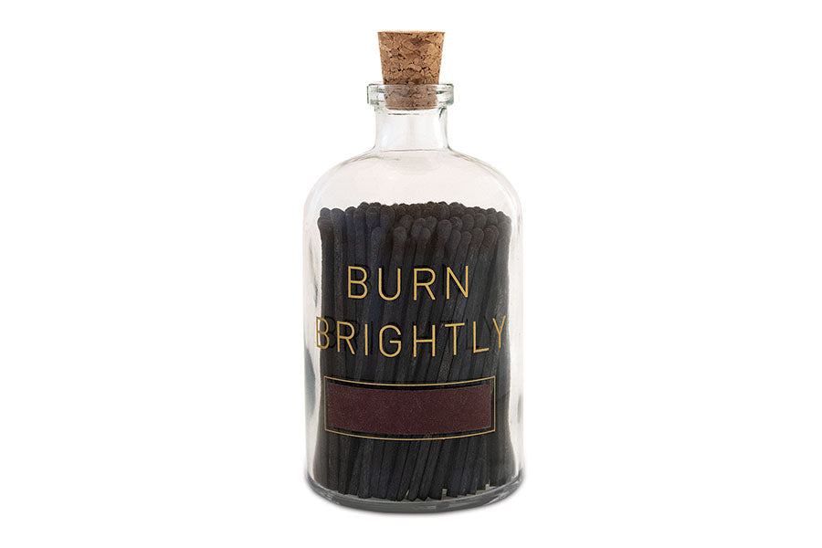 Burn Brightly Apothecary Match Jar