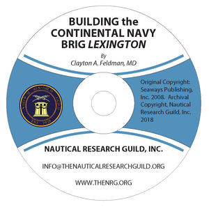 Building the Continental Navy Brig Lexington, A Practicum