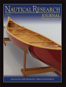 Nautical Research Journal Volume 60.4 Back Issue