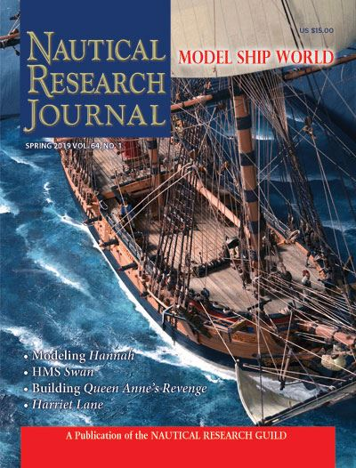 Nautical Research Journal Volume 64.1 Back Issue
