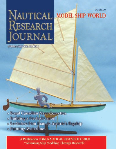 Nautical Research Journal Volume 65.1 Back Issue
