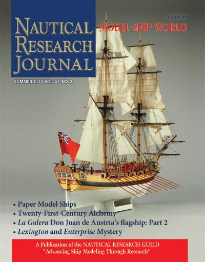 Nautical Research Journal Volume 65.2 Back Issue