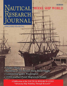 Nautical Research Journal Volume 65.3 Back Issue