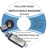 Ships in Scale - The Later Years 2010-2018