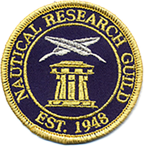 Nautical Research Guild Patch