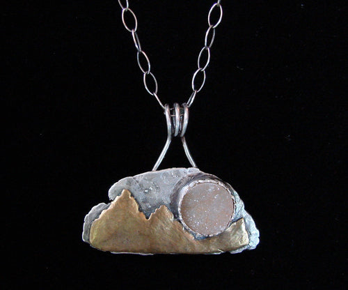 Moondance Silver Necklace