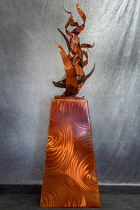 """The Flame""- Steel Sculpture"