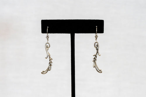 Sterling Silver Cast Earrings (P22)