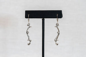 Sterling Silver Cast Earrings (E9)