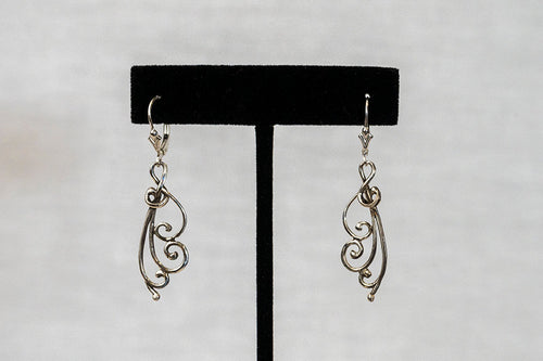 Sterling Silver Cast Earrings (E25)