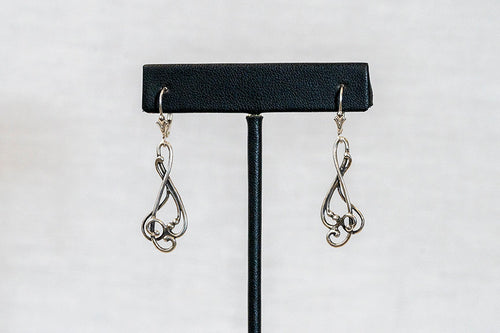 Sterling Silver Cast Earrings (E12)