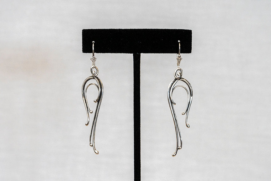 Sterling Silver Cast Earrings (ER15)
