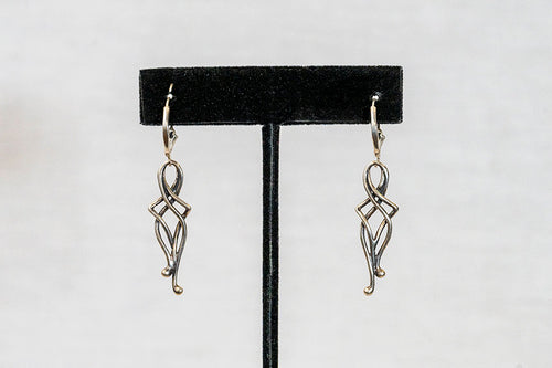 Sterling Silver Cast Earrings (E20)