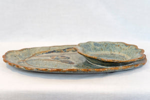 Small Oval Chip/Dip Dish
