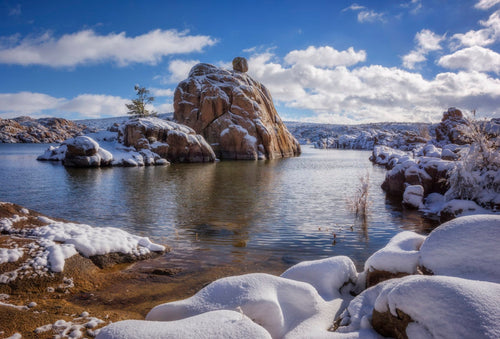 Merry White Christmas in Prescott