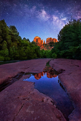 Twilight in Sedona
