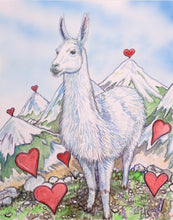 Load image into Gallery viewer, Llama Love You to Top of the Mountain