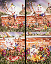 Load image into Gallery viewer, What Really Happened to Humpty Dumpty- Set of 4 Printed Images