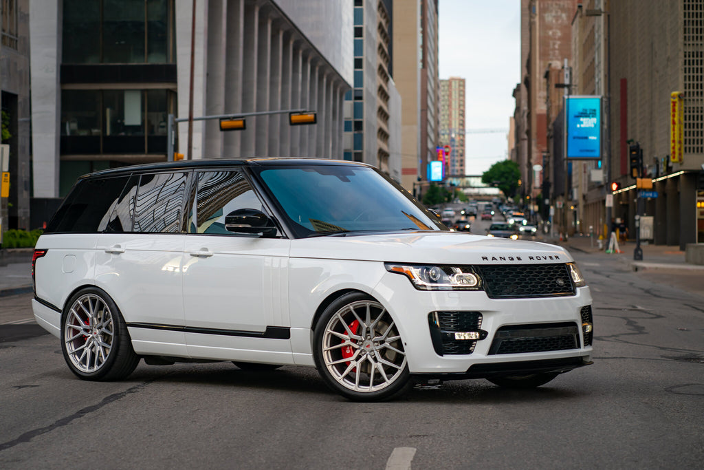 RANGE ROVER ON VOSSEN M-X3 WHEELS