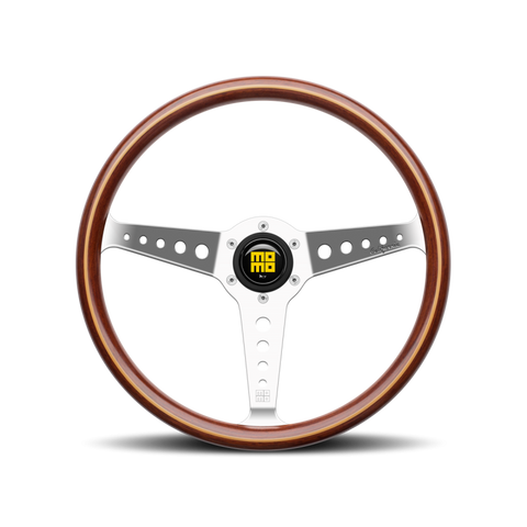 MOMO STEERING WHEEL - CALIFORNIA WOOD - Motorsports LA