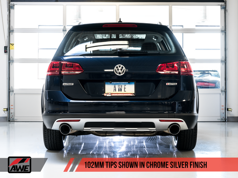 AWE Touring Edition Exhaust for VW Golf Alltrack / Sportwagen 4Motion - Motorsports LA