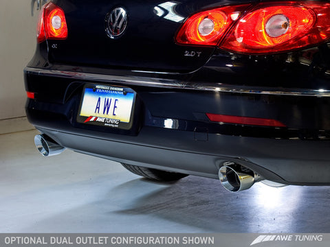 AWE Touring Edition Performance Exhaust for VW CC 2.0T