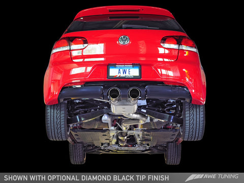 AWE Track Edition Exhaust for MK6 Golf R - Motorsports LA