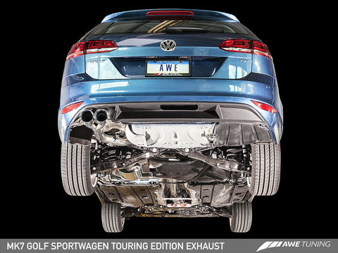 AWE Track Edition Exhaust for VW MK7 Golf SportWagen - Motorsports LA