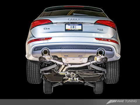 AWE Touring Edition Exhaust for 8R Q5 3.0T Dual Outlet