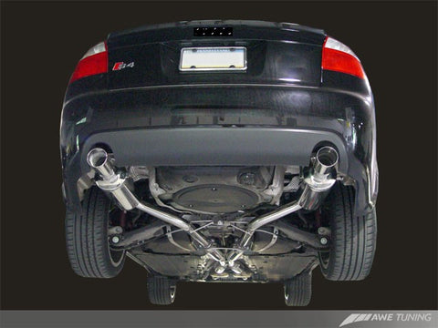 AWE Track Edition Exhaust for B6 S4