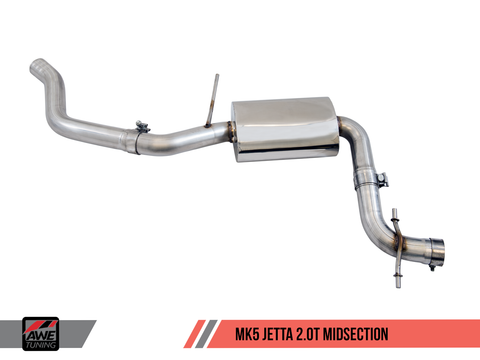 AWE Track Edition Exhaust for MK5 Jetta 2.0T - GLI - Motorsports LA