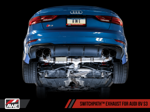 AWE SwitchPath™ Exhaust for Audi 8V S3 - Motorsports LA