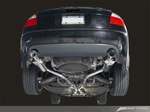 AWE Track Edition Exhaust for B6 A4 3.0L - Motorsports LA