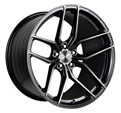 "19"" Stance SF03 Gloss Black Tinted Face Concave Wheels - Set of 4 - Motorsports LA"